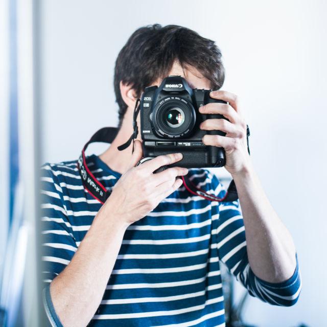 Jérémie et camera